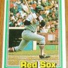1981 MLB Donruss Carl Yastrzemski Card #94 Red Sox