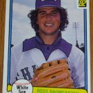 1982 MLB Donruss Ross Baumgarten Card #104 White Sox