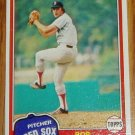 1981 MLB Topps Card #421 Bob Stanley Boston Red Sox