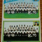 Lot of 2 Topps Chicago Wite Sox Team Cards 1980 1981