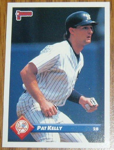 1993 MLB Donruss Series 2 #503 Pat Kelly NY Yankees
