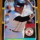 1986 MLB Donruss Rich Gedman Boston Red Sox Card #153