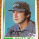 1982 MLB Topps Card #714 Jerry Koosman White Sox
