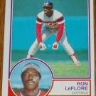 1983 MLB Topps Ron LeFlore Chicago White Sox Card #560