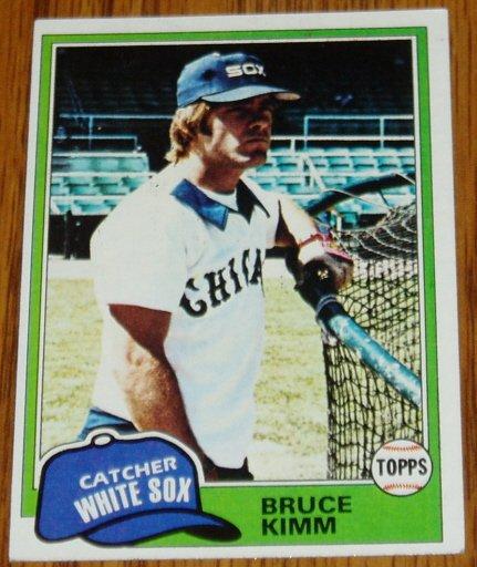 1981 MLB Topps Card #272 Bruce Kimm Chicago White Sox