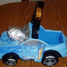 NWT Hot Wheels Vinyl Basket Car Shaped Storage Blue