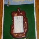 NIP Golf Bag Luggage Tag Sports Travel Gift Maroon
