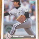 1993 MLB Donruss Series 2 #720 Terry Leach White Sox