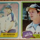 Lot of 2 MLB Jim Morrison Cards Topps & Fleer White Sox