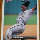 1993 MLB Donruss Series 2 #565 Tim Raines White Sox