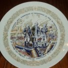 1975 D'Arceau Limoges Siege of Yorktown Collector Plate