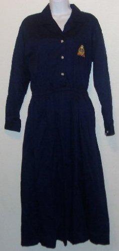 Talbot's Navy Blue Long Sleeve Dress Size 8