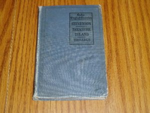 1919 Lake English Classics Treasure Island R.L. Stevenson Book