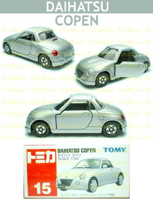 Tomy Tomica Diecast : #15 Daihatsu Copen (Last Piece)