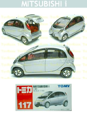 Tomy Tomica Diecast : #117 Mitsubishi i