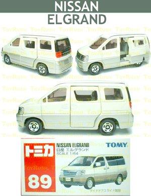 Tomy Tomica Diecast : #89 Nissan Elgrand