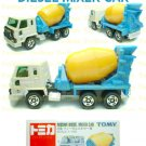 Tomy Tomica Diecast : #53 Nissan Diesel Mixer Car (Old Edition)