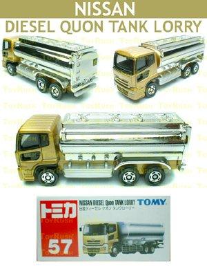 Tomy Tomica Diecast : #57 Nissan Diesel Quon Tank Lorry