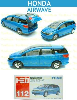 Tomy Tomica Diecast : #112 Honda AIRWAVE (Blue)