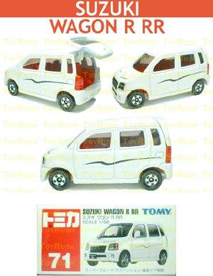 Tomy Tomica Diecast : #71 Suzuki Wagon R RR