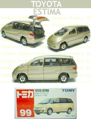 Tomy Tomica Diecast : #99 Toyota Estima (Previa)