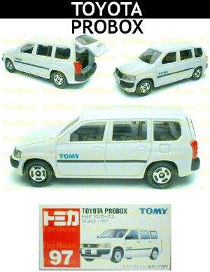 Tomy Tomica Diecast : #97 Toyota Probox