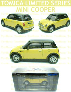 Tomy Tomica Limited Edition Diecast : #0048 Mini Cooper (Yellow)