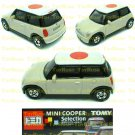 Tomy Tomica Lottery Series X : #L10-16 Mini Cooper White With Japan Flag Top