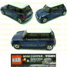 Tomy Tomica Lottery Series X : #L10-09 Mini Cooper Blue With White Top