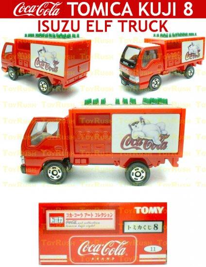 Tomy Tomica Lottery Series VIII : #L8-11 Coca Cola Isuzu ELF Truck