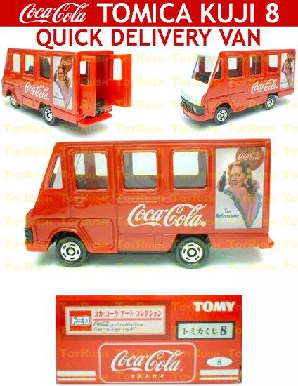 Tomy Tomica Lottery Series VIII : #L8-08 Coca Cola Quick Delivery Van