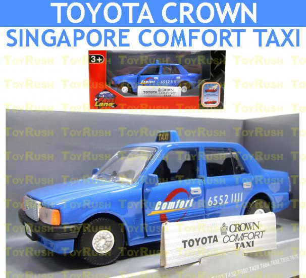 Fast Lane DieCast : Toyota Crown Singapore Comfort Taxi