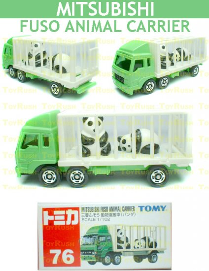 Tomy Tomica Diecast : #76 Mitsubishi Fuso Animal Carrier