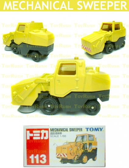 Tomy Tomica Diecast : #113 Mechanical Sweeper