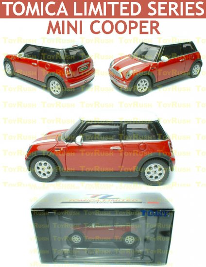 Tomy Tomica Limited Edition Diecast : #0048 Mini Cooper (Red)