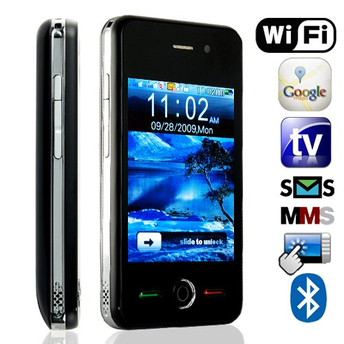 Thunder - Quadband Dual SIM WiFi Touchscreen Cell Phone [GC135086]