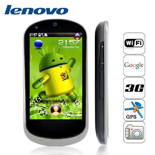 Lenovo LePhone - Android, 3.7 AMOLED Touchscreen, 3G, WiFi [GC135090]