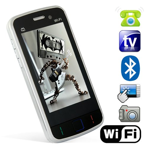 Odyssey - WiFi Quadband Dual SIM Cell Phone with 3 inch Touchscreen [GC135091]