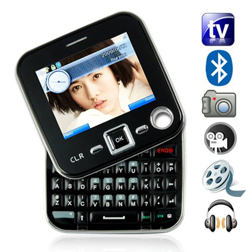 Metro - Dual SIM Swivel Screen QWERTY Cosmopolitan Cell Phone [GC135092]