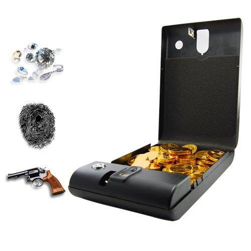 Fingerprint Access Safe - Executive Biometric Security Box [GC135095]