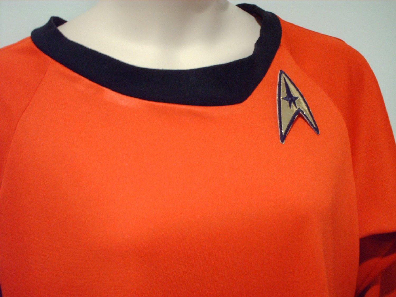 Like Star Trek TOS Dress Costume RED Uhura  Womens Plus Size to 4X or 26 Custom Handmade