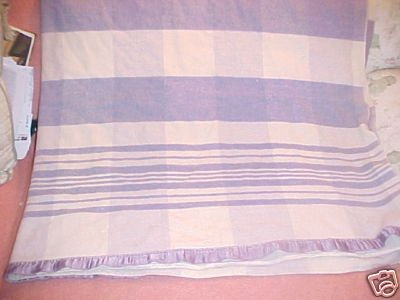 Vintage Light Weight Wool Plaid Blanket FREE SHIPPING!!!