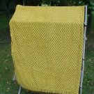 Vintage Gold & Brown Chenille Bedspread FREE SHIPPING!!!