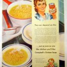 Campbell's Chicken Soup Ad 1942 - Depend on This