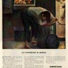 1943 American Locomotive AD - WW II Ty Mahon