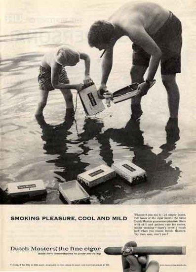 DUTCH MASTERS CIGARs 1959 Ad - Smoking Pleasure
