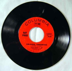 Ray Price - DON'T YOU EVER GET TIRED 45 RPM Single