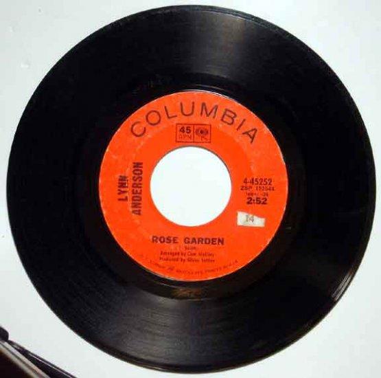 Lynn Anderson ROSE GARDEN 1970 Columbia 45 RPM