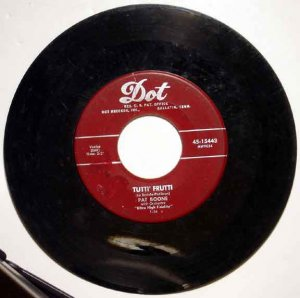 Pat Boone TUTTI FRUITTI 1956 Dot Maroon Label