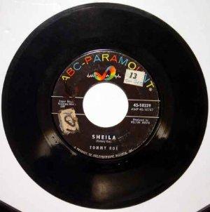 Tommy Roe SHEILA 1962 ABC 45 RPM Single